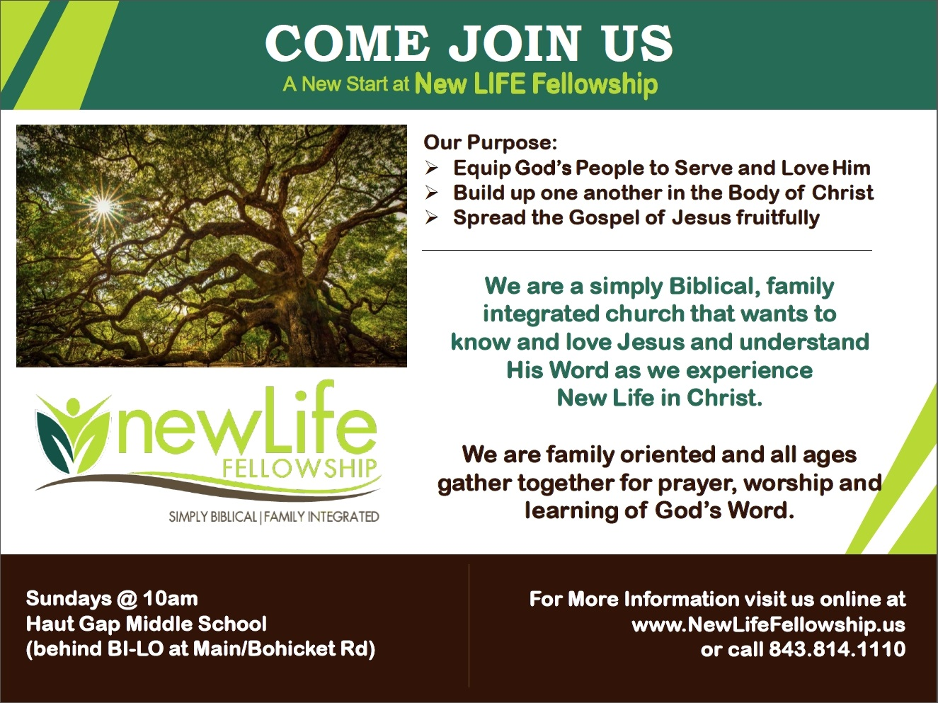 New LIFE Invitation